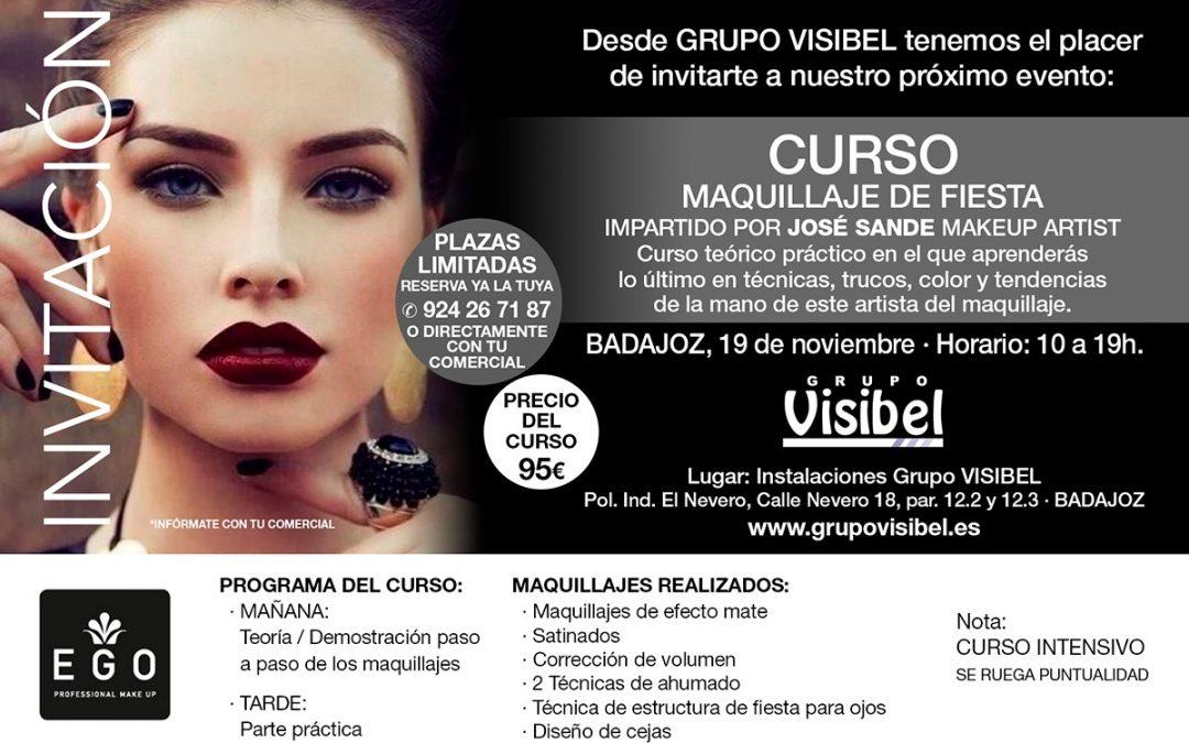 Curso Maquillaje EGO Badajoz