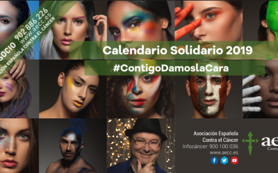 Calendario Solidario AECC 2018