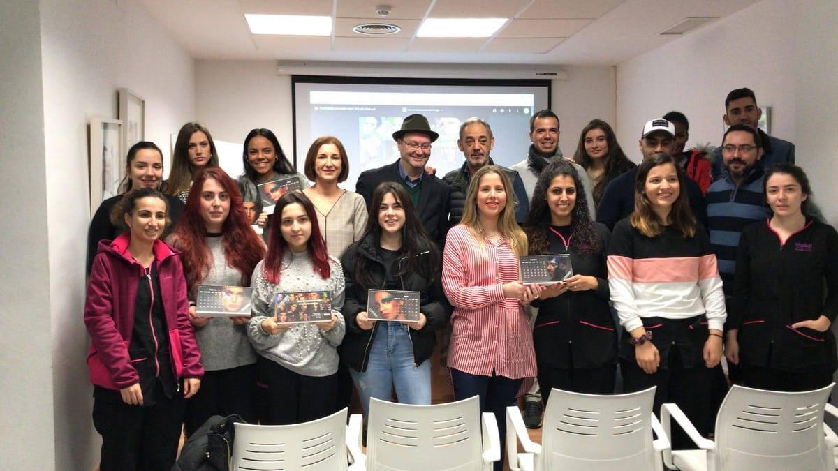 grupovisibel-presentación-calendario-solidario-aecc-2018